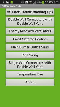 HVAC Answer Tools poster