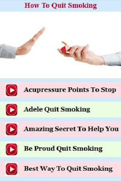 How to Quit Smoking Guide poster