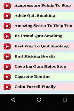 How to Quit Smoking Guide apk screenshot