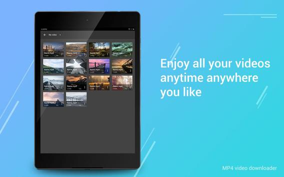 Free MP4 Video Downloader apk screenshot