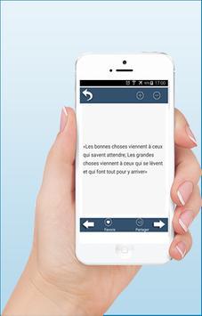 Meilleurs Proverbes-Citations screenshot 6