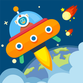 Help space man icon