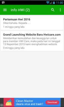 HWI Care screenshot 1