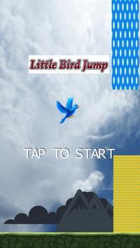 Little Bird Jumping poster