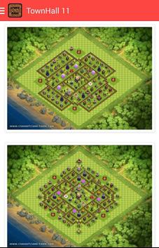 Hybrid Base for Clash of Clans poster