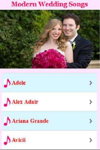 Modern Wedding Songs for Android - APK Download