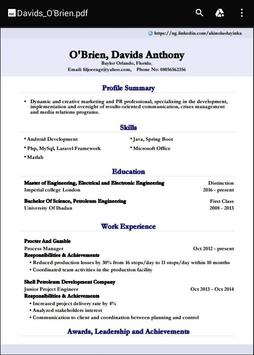 cv builder for smart resumes apk download free business app for