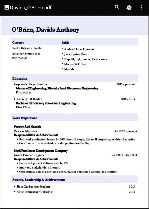 Smart Resume Builder Apk Download