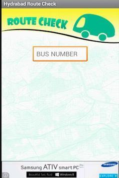Hyderabad Bus RouteCheck - RTC screenshot 1