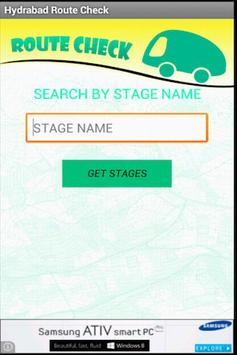 Hyderabad Bus RouteCheck - RTC screenshot 3