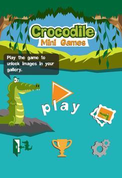 Crocodile Mini Games poster