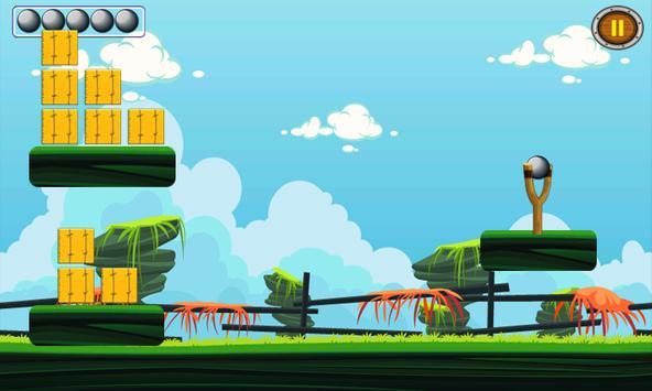 Farm Slingshot Ball Knock Down screenshot 4