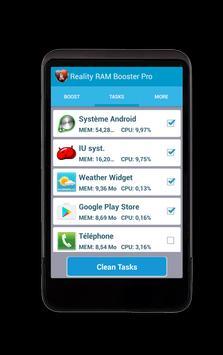 Reality RAM Booster Pro apk screenshot