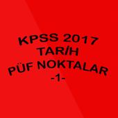 2017 KPSS TARİH PÜF NOKTLR -1- icon