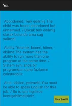 Yds'de En Çok Çıkan Kelimeler screenshot 1