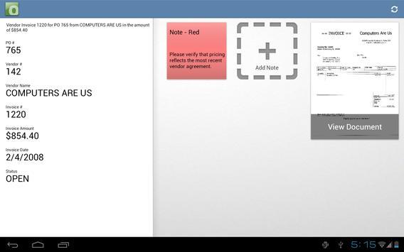 OnBase screenshot 11