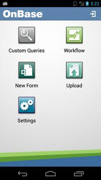 OnBase Mobile apk screenshot