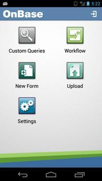 OnBase screenshot 1