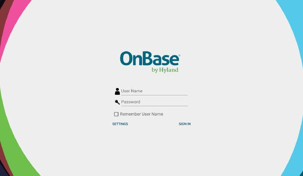 OnBase Mobile Healthcare 16 poster