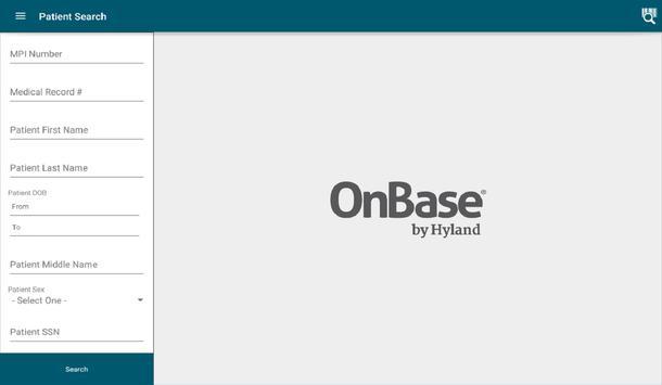OnBase Mobile Healthcare 16 screenshot 2