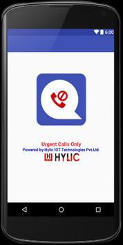 urgent calls only poster