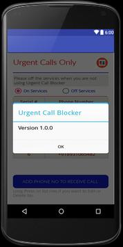 urgent calls only screenshot 4