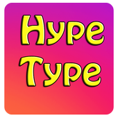 New Hype Type Animated Text Video 2018 icon