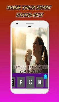 Hype Type App for android Screenshot 3