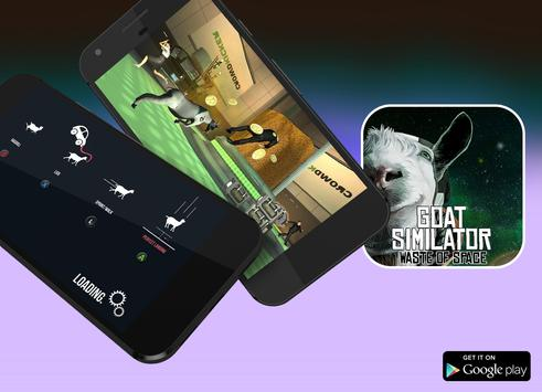 Guide for Goat Simulator: Waste of Space poster
