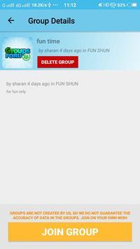 Group links for Whatsapp apk screenshot
