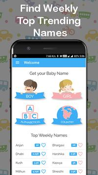 Unique Baby Names screenshot 1