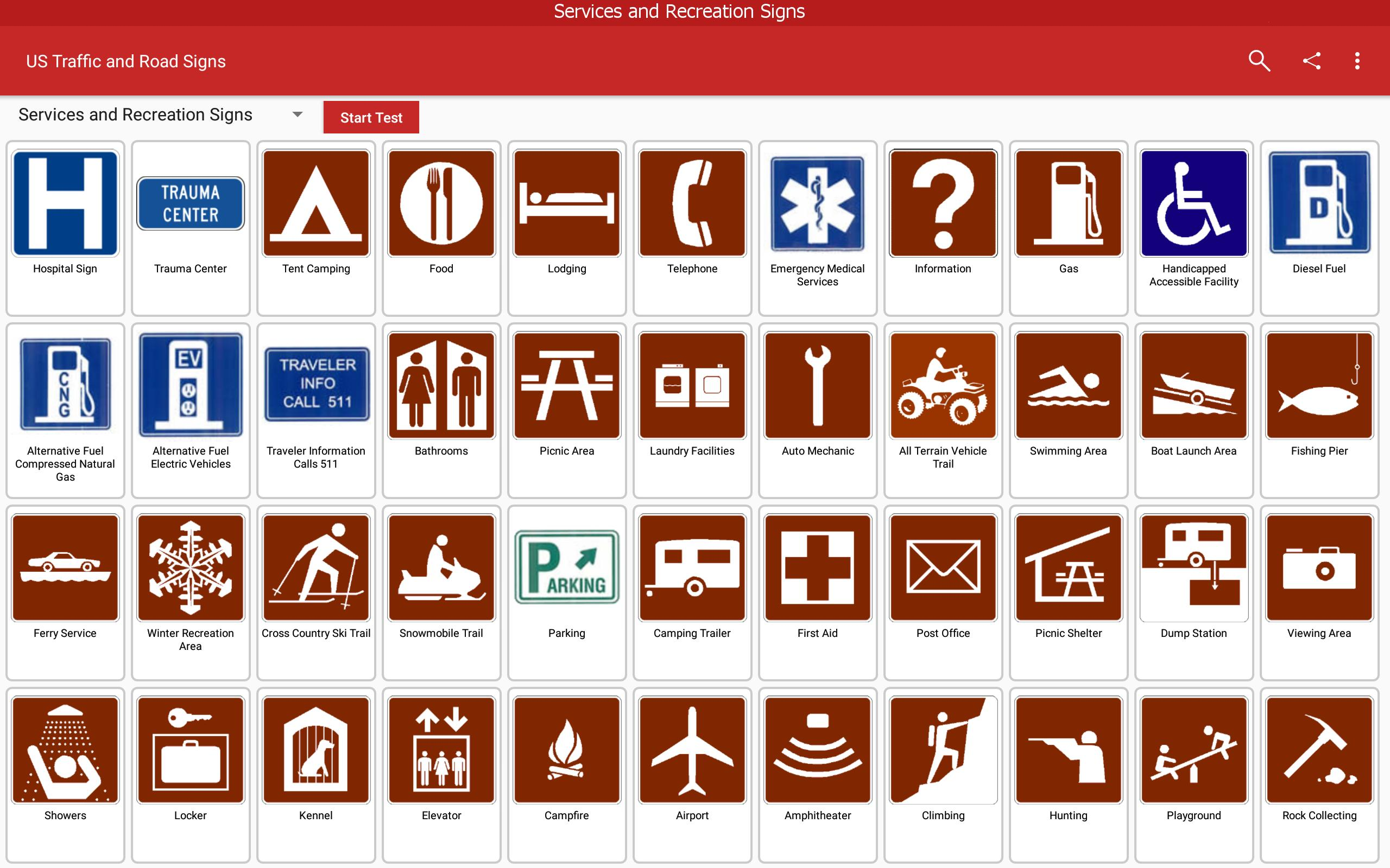US Traffic and Road Signs for Android - APK Download