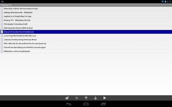 @Voice Aloud Reader (TTS Reader) apk screenshot