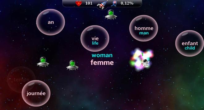 English Words for the Frenches apk screenshot