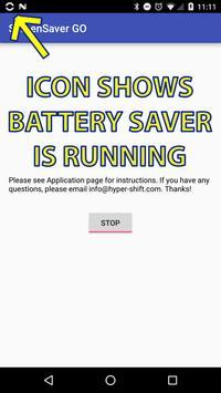 BatterySaver GO for Pokemon GO screenshot 1