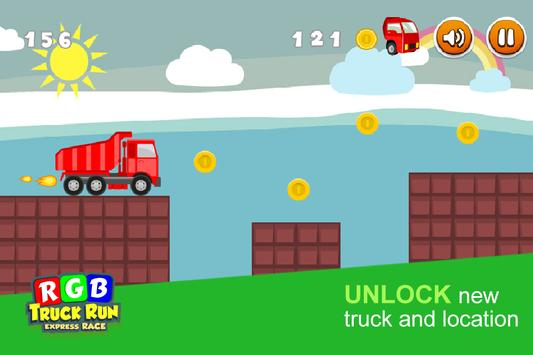 RGB Express Truck Run apk screenshot