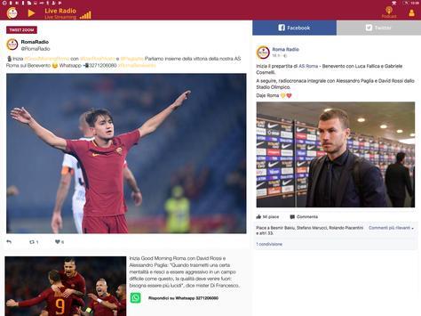 Roma Radio screenshot 3
