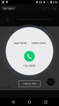 Hyride Partner apk screenshot
