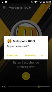 Metropolis 100.9 poster