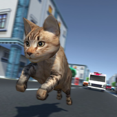 Kitty Cat Rush 3D Game icon