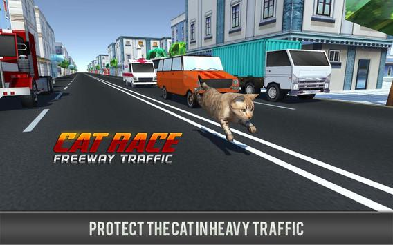 Kitty Cat Rush 3D Game apk screenshot