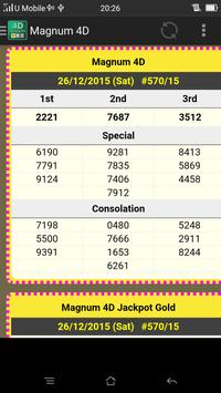 Live_4D Results ~ MY and SG poster
