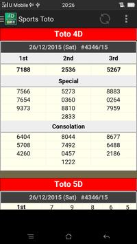 Live_4D Results ~ MY and SG apk screenshot