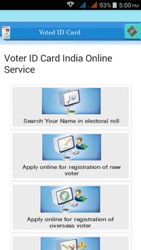 Voter ID Card poster