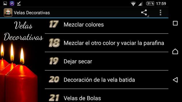 Velas Decorativas screenshot 2