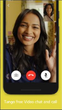 Tango sms Free Video calling and chat screenshot 1
