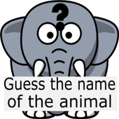Kids Game For Study : Guess the Name of the Animal icon