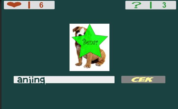 Kids Game For Study : Guess the Name of the Animal apk screenshot
