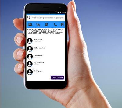 Mesenger Hack Prank screenshot 2