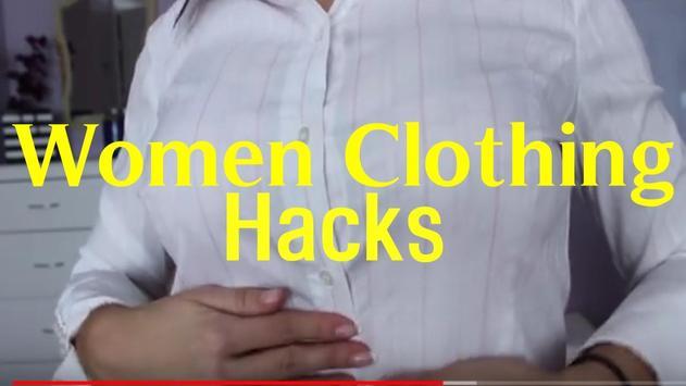 Women Clothing Hack poster